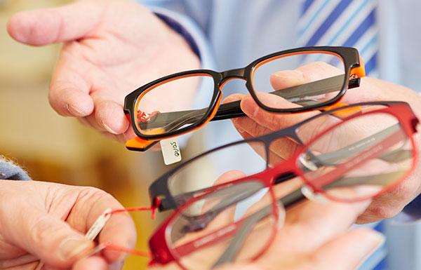 Gleitsichtbrillen vom Optiker